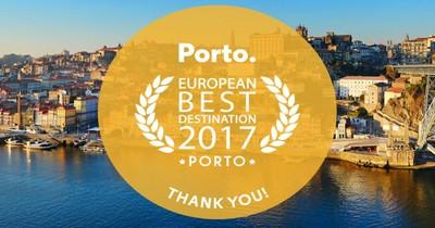 Porto Best Destination 2017